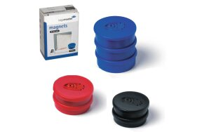COLOURED MAGNETS D 20mm LEGAMASTER